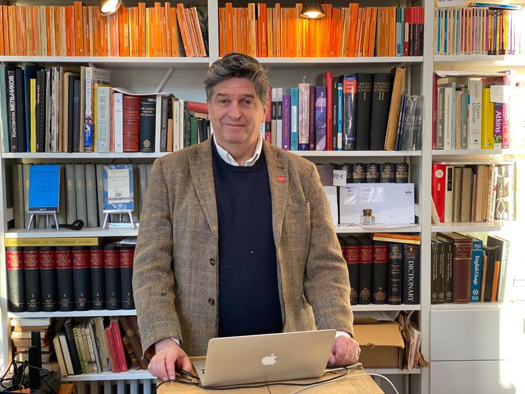 Ian Bourgeot Arkadia International Bookstore