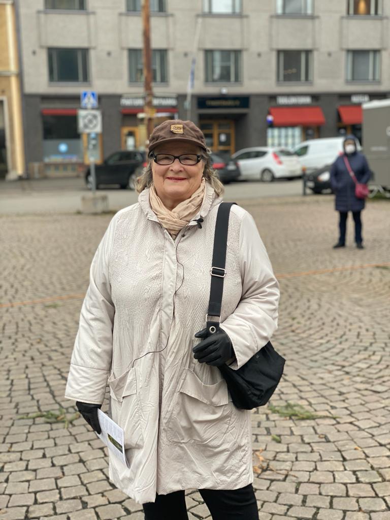 Pirkko Liljeström Töölö seura ry