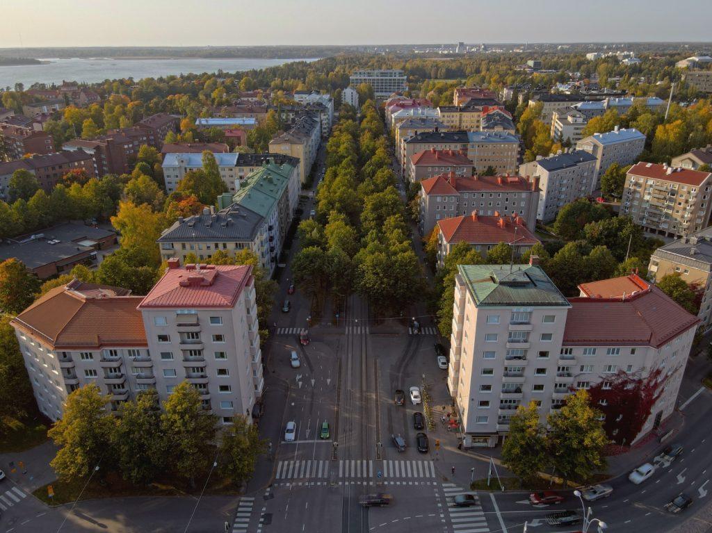 Munkkiniemen puistotie Tuomas Kukko