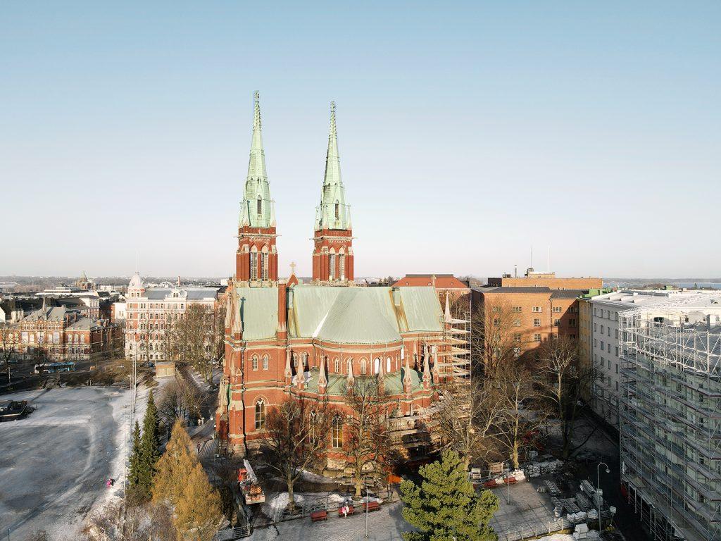 Johanneksen kirkko Ullanlinnassa